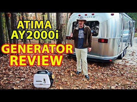 REVIEW: Atima AY2000i 2000 Watt Portable Inverter Generator for RV Camping