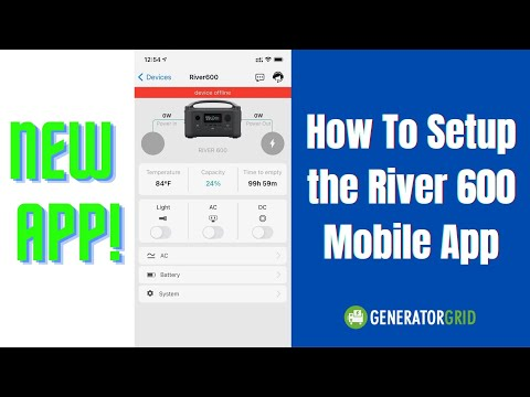How to setup the EcoFlow River 600 iOS & Android App