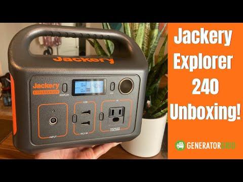 Jackery Explorer 240 Unboxing & Size vs the Jackery 160 & Weight vs 300