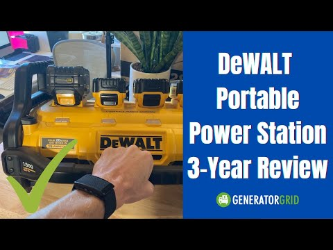 DeWALT Portable Power Station 3 year Review
