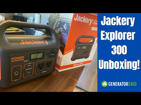 Jackery 300: Unboxing the newest portable power station