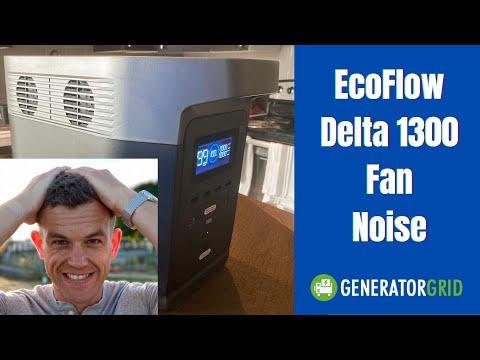 EcoFlow Delta Fan Noise vs Jackery 1000 Fans