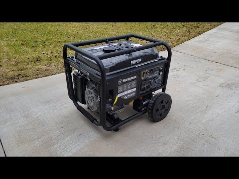 Westinghouse WPro8500 Unboxing Best Generator For The Money?