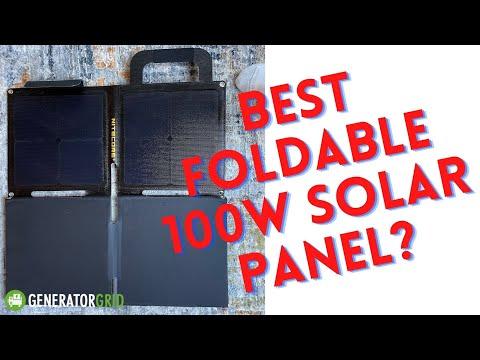 NITECORE FSP100W - Best Foldable 100W Solar Panel?
