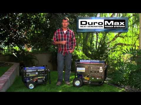 DuroMax XP4400E Generator & DuroMax XP10000E Generator Reviews