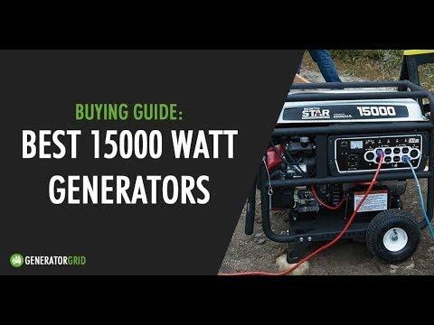 8 Best 15,000 Watt Generators