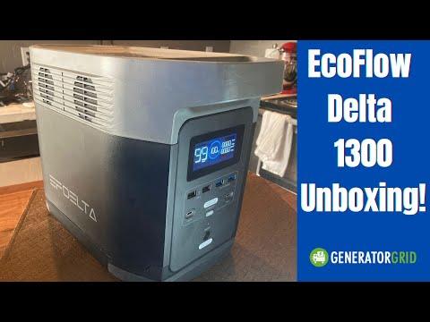 EcoFlow Delta 1300 Unboxing & Size vs the Jackery Explorer 1000