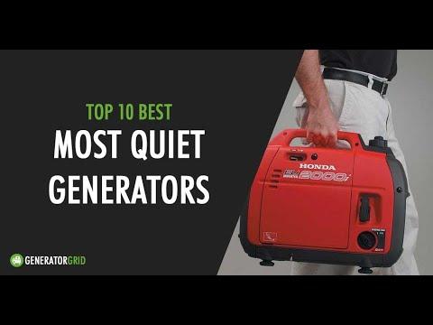 Top 10 Best Quiet Portable Generators
