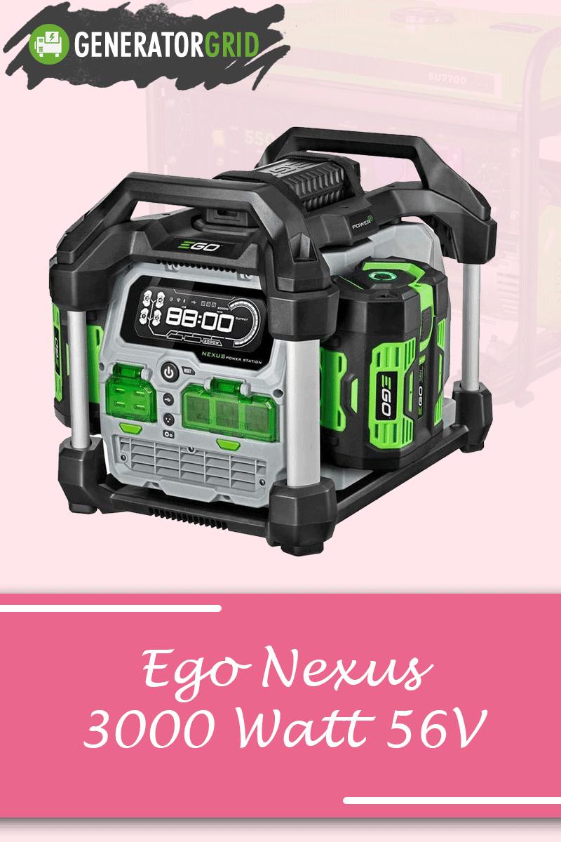 Ego Nexus 3000 Att 56V