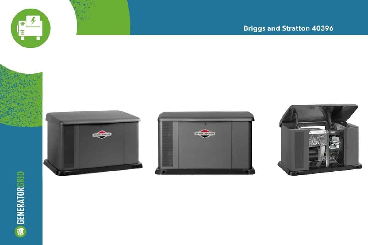 Gray Briggs and Stratton seen from three different angles