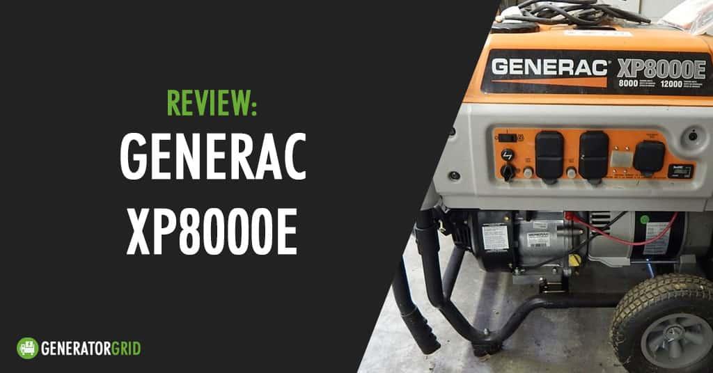Generac XP8000E