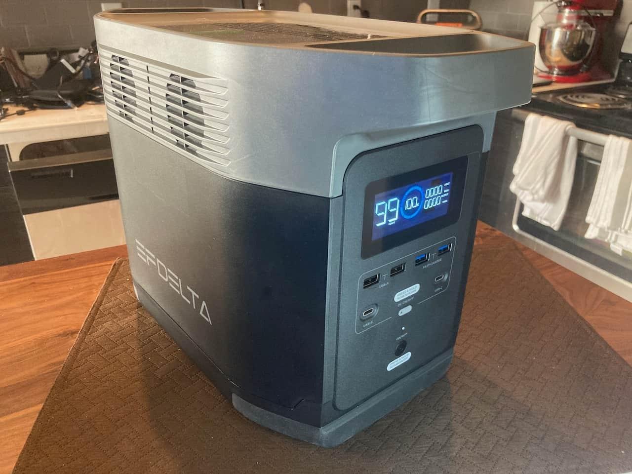 Quiet Ecoflow Delta Solar Generator