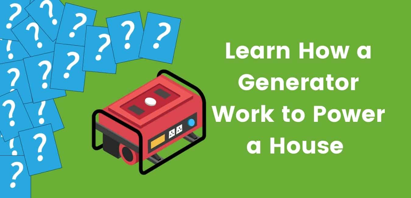 Illustrated red generator next to article title