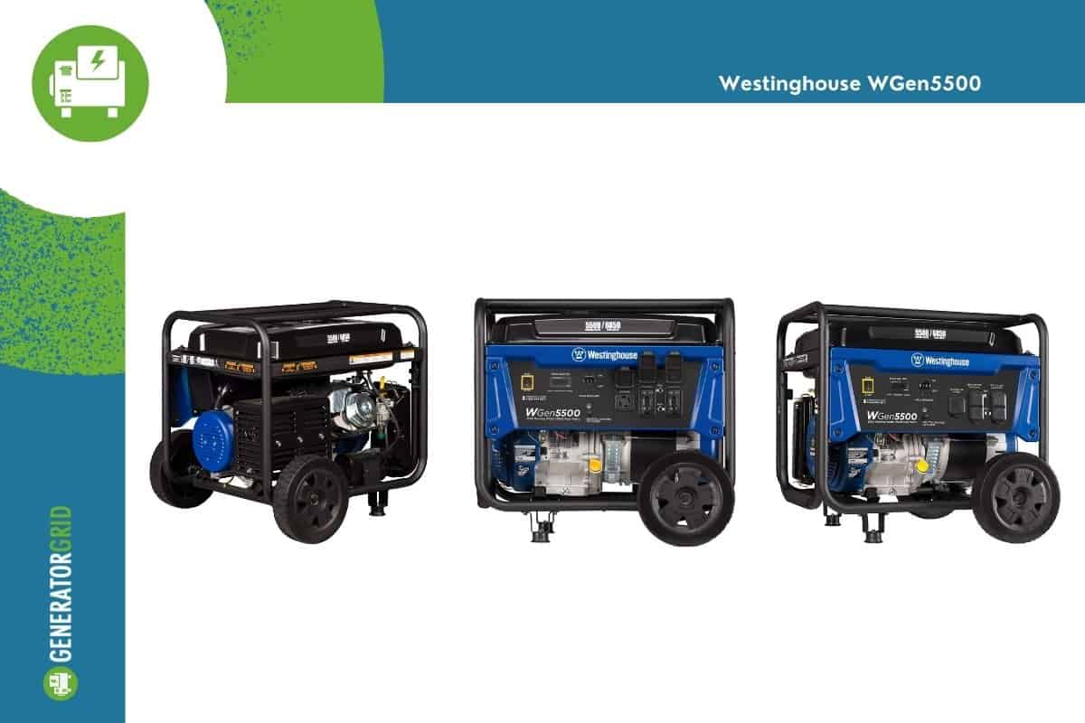 Blue Westinghouse image from three different angles