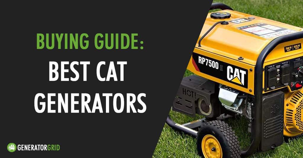 cat portable generators