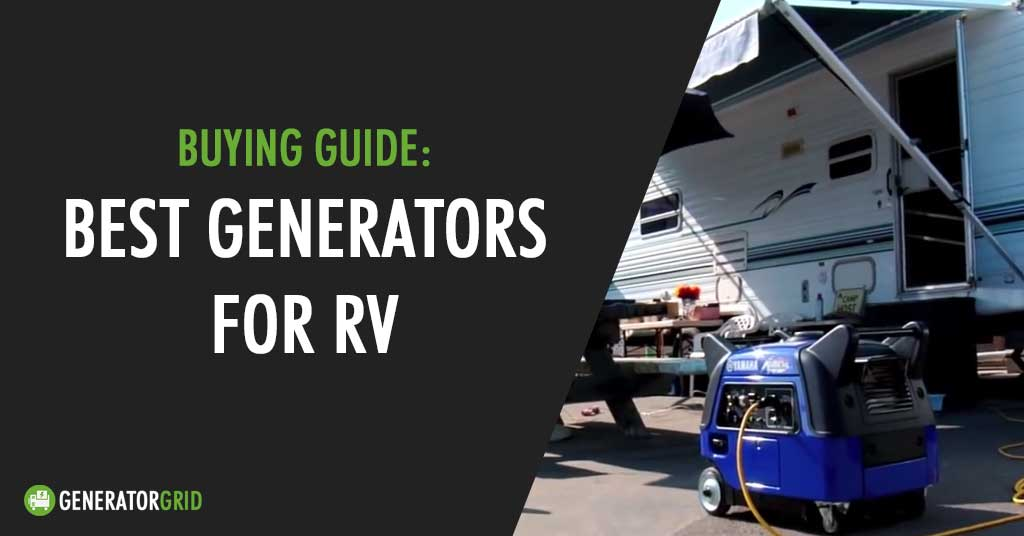 top 10 best generators for RV featured image