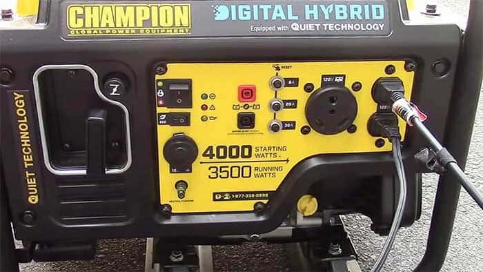 champion 4000w digital hybrid inverter