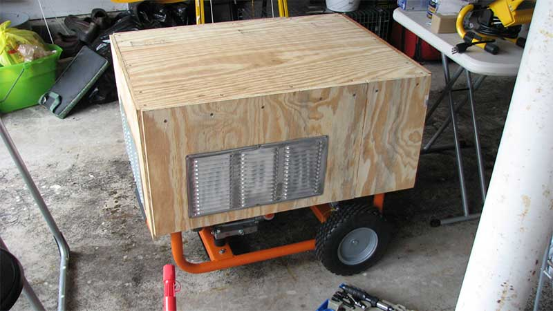 DIY generator enclosure