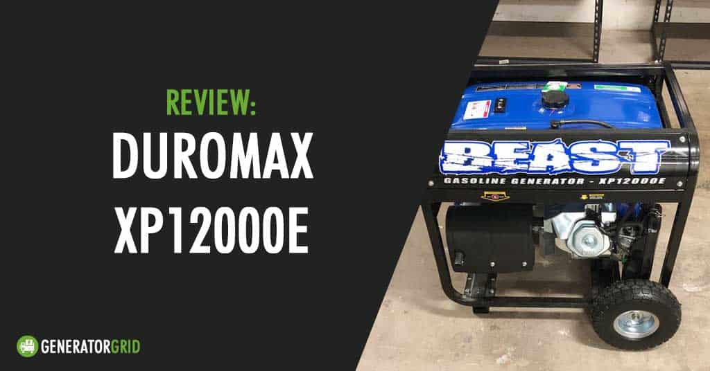 XP12000E review post featured image
