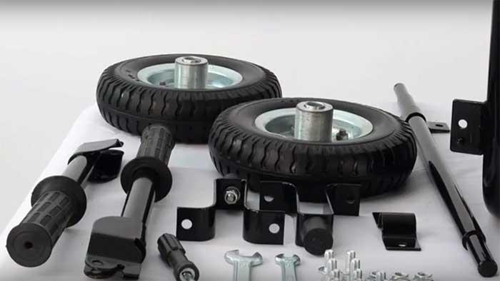 Wheel kit for the durostar ds4000S
