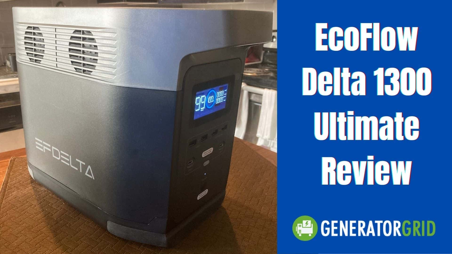 EcoFlow Delta 1300 - My Review