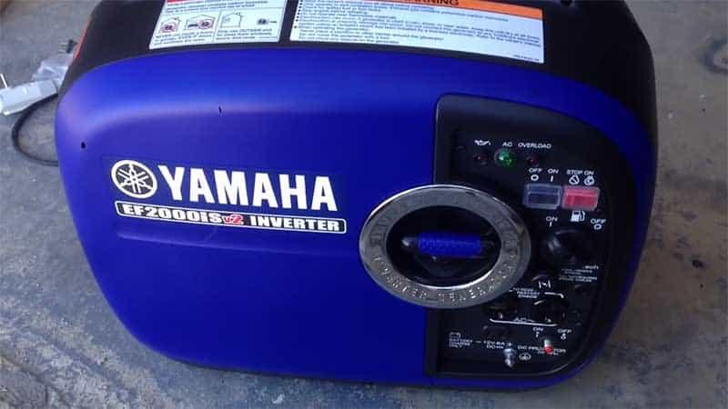 Yamaha EF2000ISV2 Portable Generator