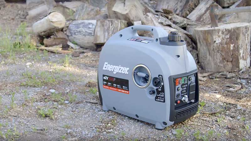 Energizer generator in the woods