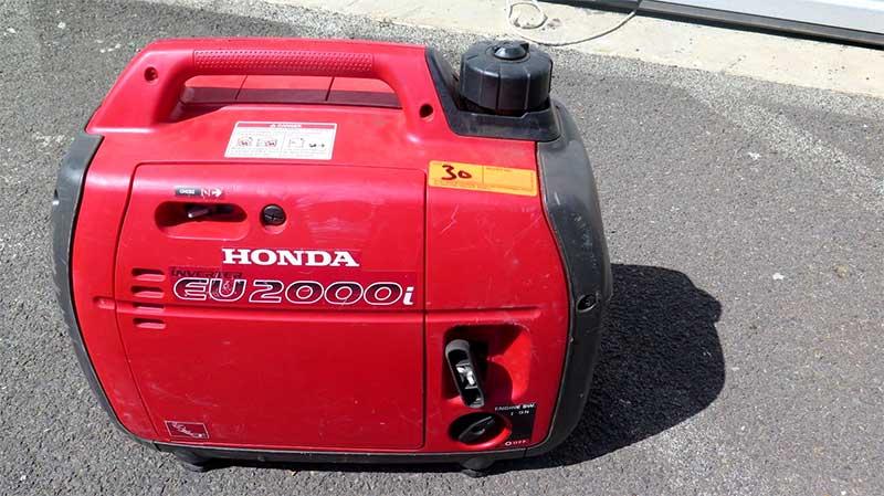 Honda EU2000I - quietest generator