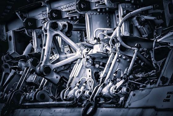 internal part of a machine