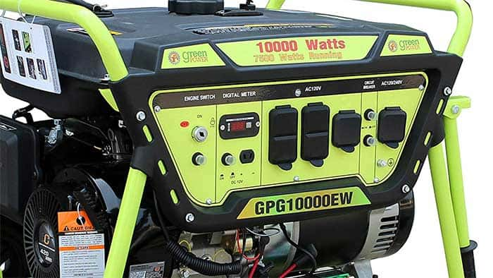 Green power 10000w generator