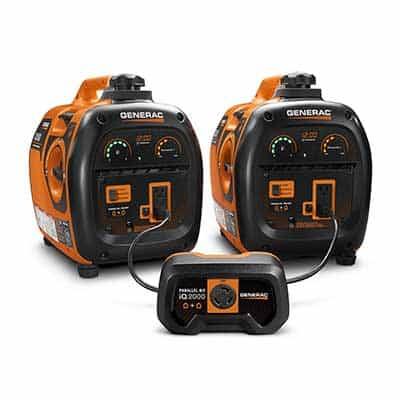 portable generators plugged in parallel