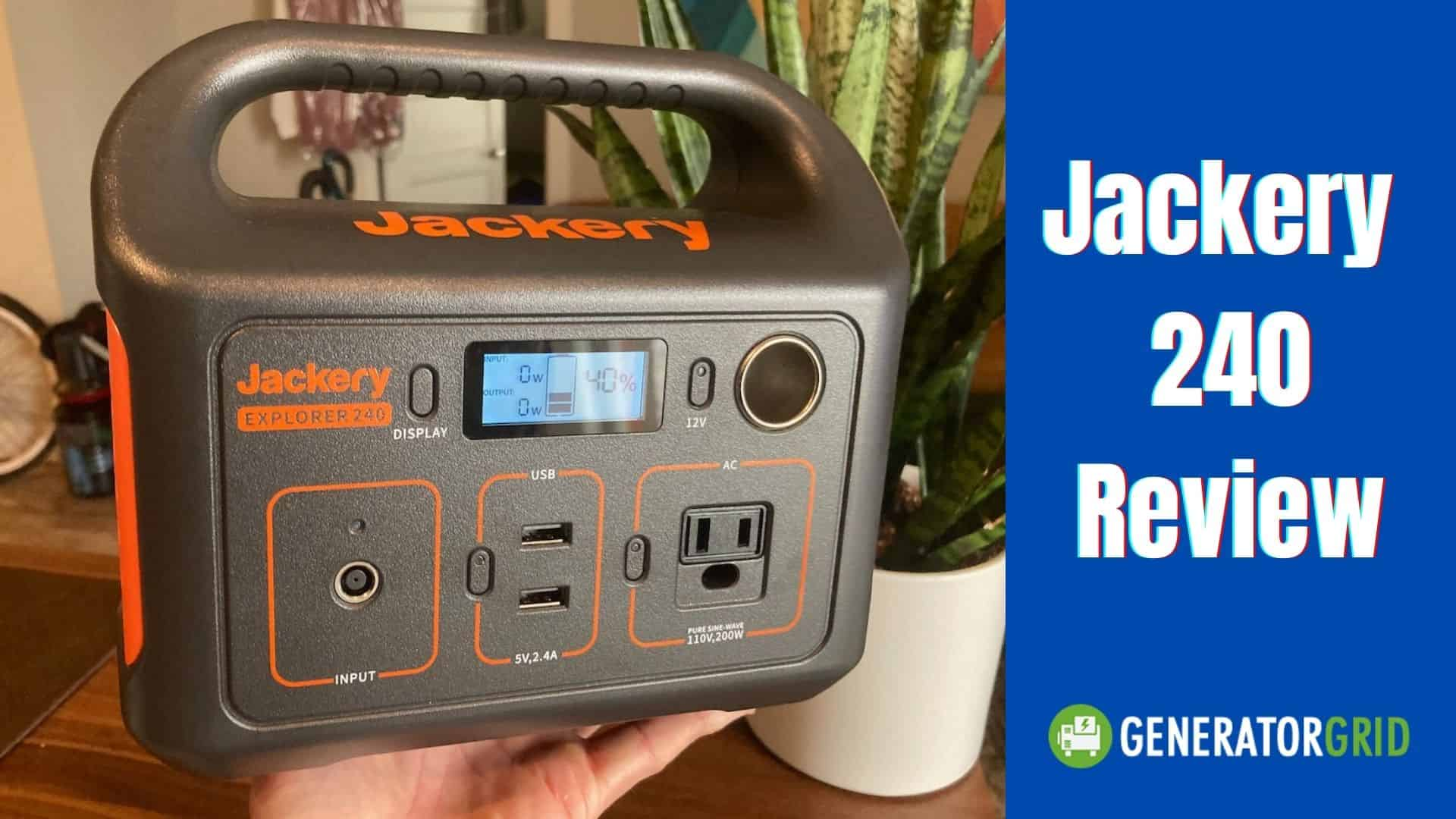 Jackery 240 Review