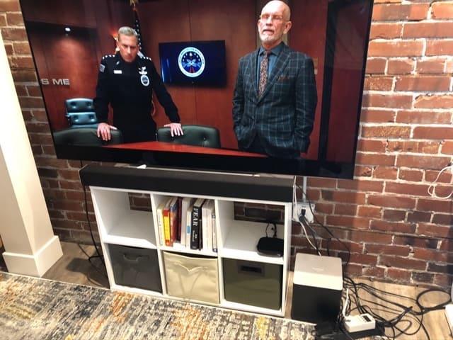 watts used led tv with netflix
