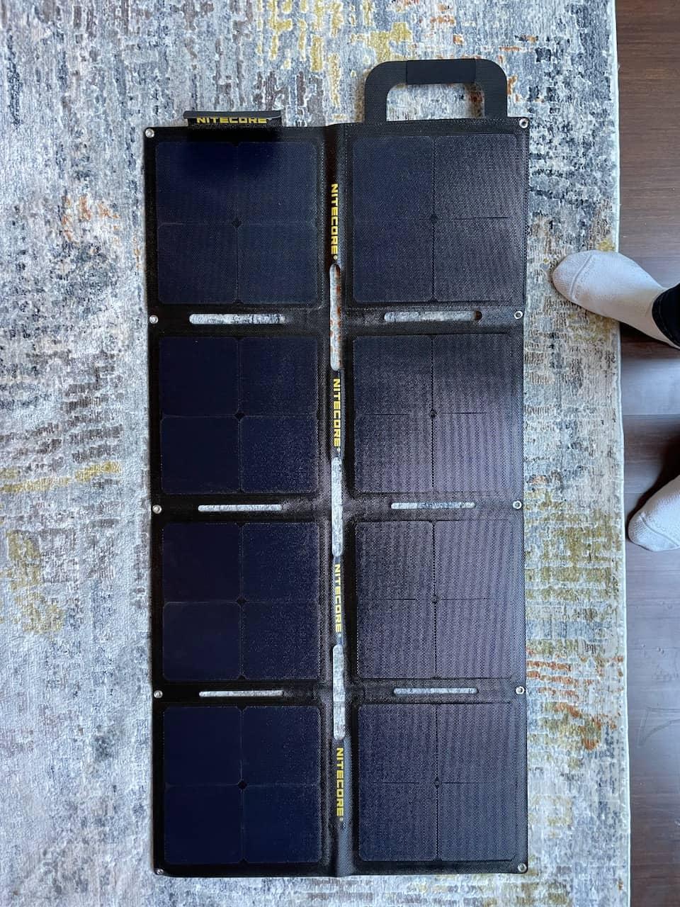 NITECORE FSP100W 100W Foldable Solar Panel