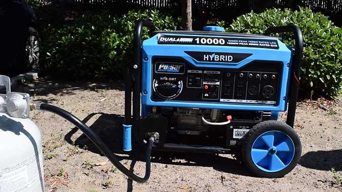 Pulsar pg10000 hybrid generator
