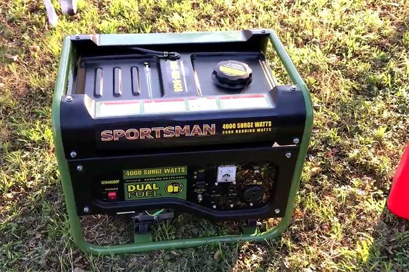 Sportsman 4000 Watts dual fuel portable generator