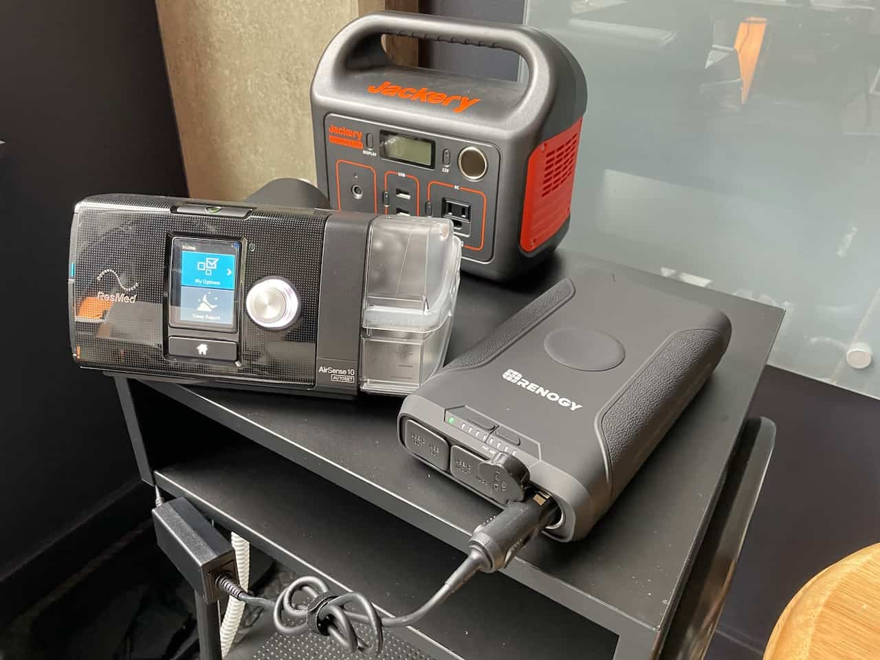 The CPAP battery I would take camping