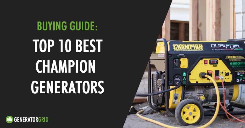 champion generators review