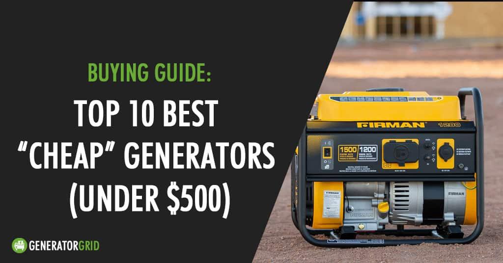 best cheap generator