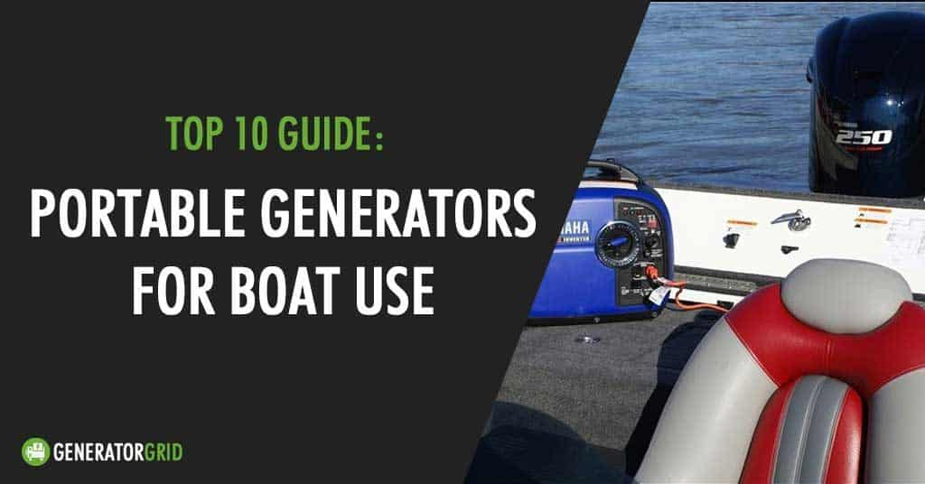 best generators for boat use