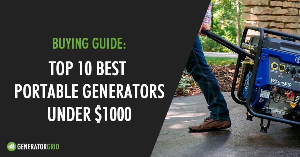 best generators under $1000 usd