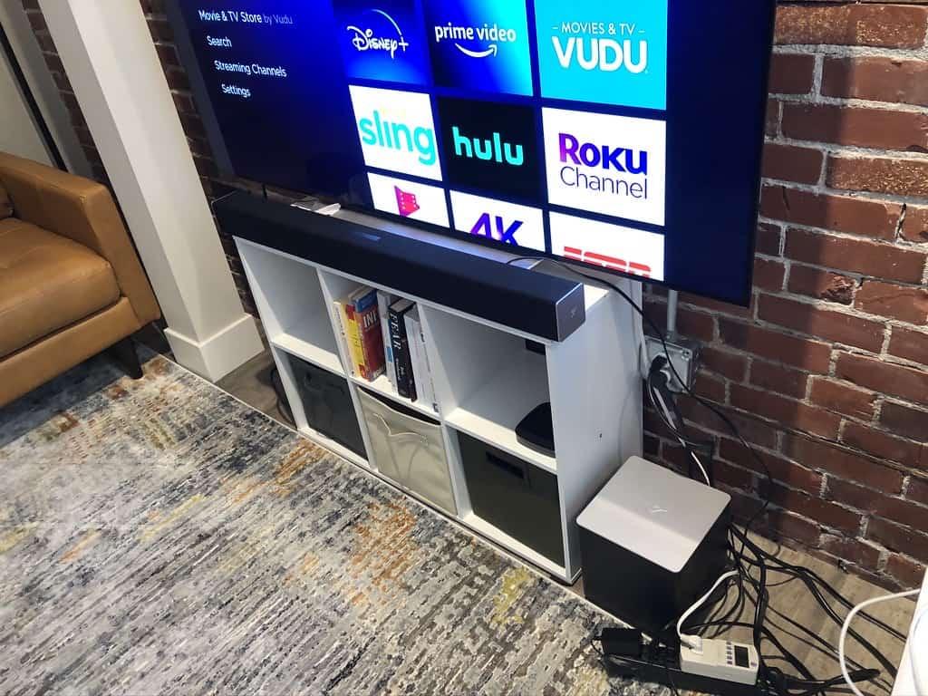 65-inch LED TV Watts Test