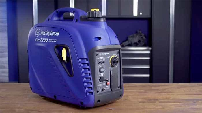 Blue westinghouse generator