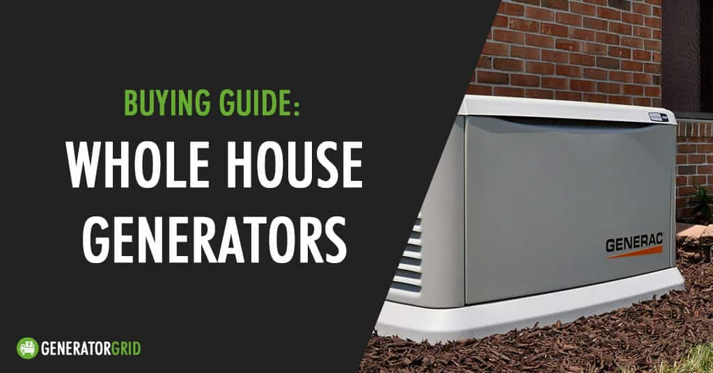 whole house portable generator
