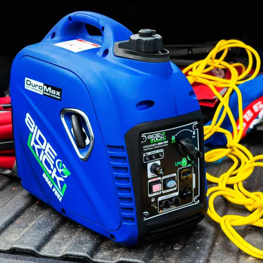 xp2000eh dual fuel generator with lpg capabilities